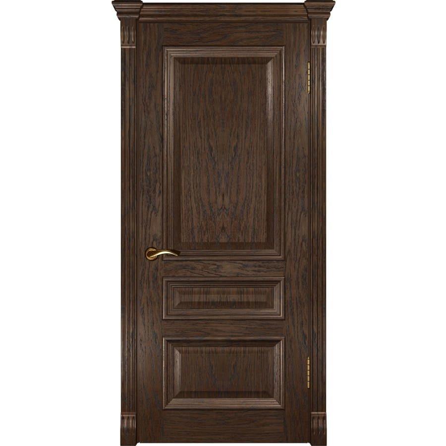 Для спальни Межкомнатная дверь шпон Luxor Фараон 2 дуб морёный глухая faraon-2-dg-dub-moreniy-dvertsov.jpg
