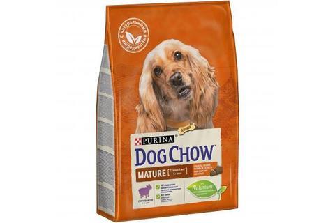 Сухой корм Purina Dog Chow Mature Adult для собак старше 5 лет, ягнёнок
