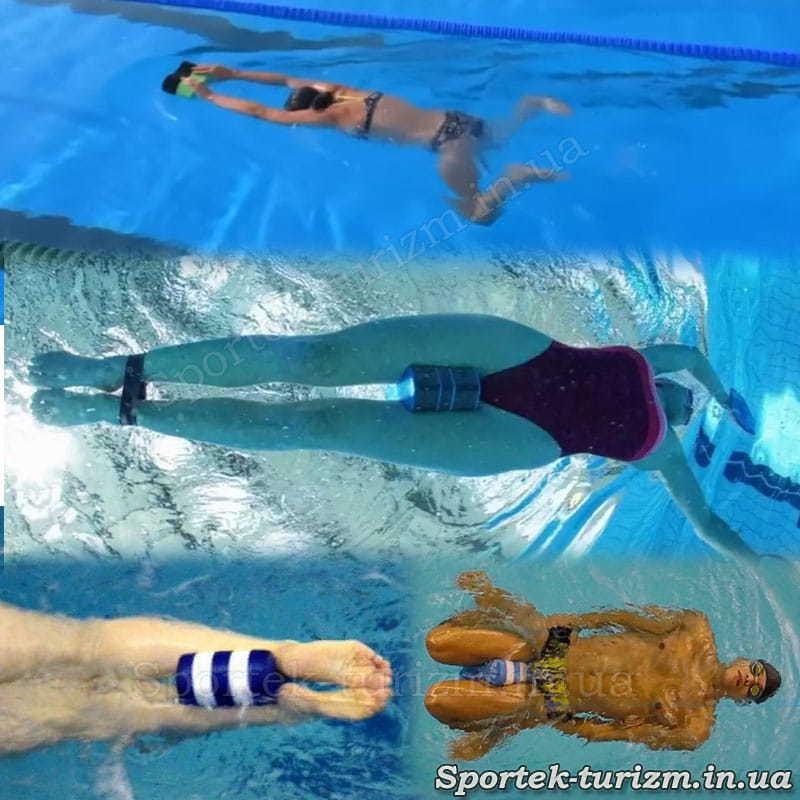 Використання калабашкі для тренувань з плавання