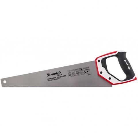 Ножовка по дереву для точных пильных работ, 450 мм, каленый зуб 3D, 14 TPI, трехкомпонентная рукоятка, Pro Matrix