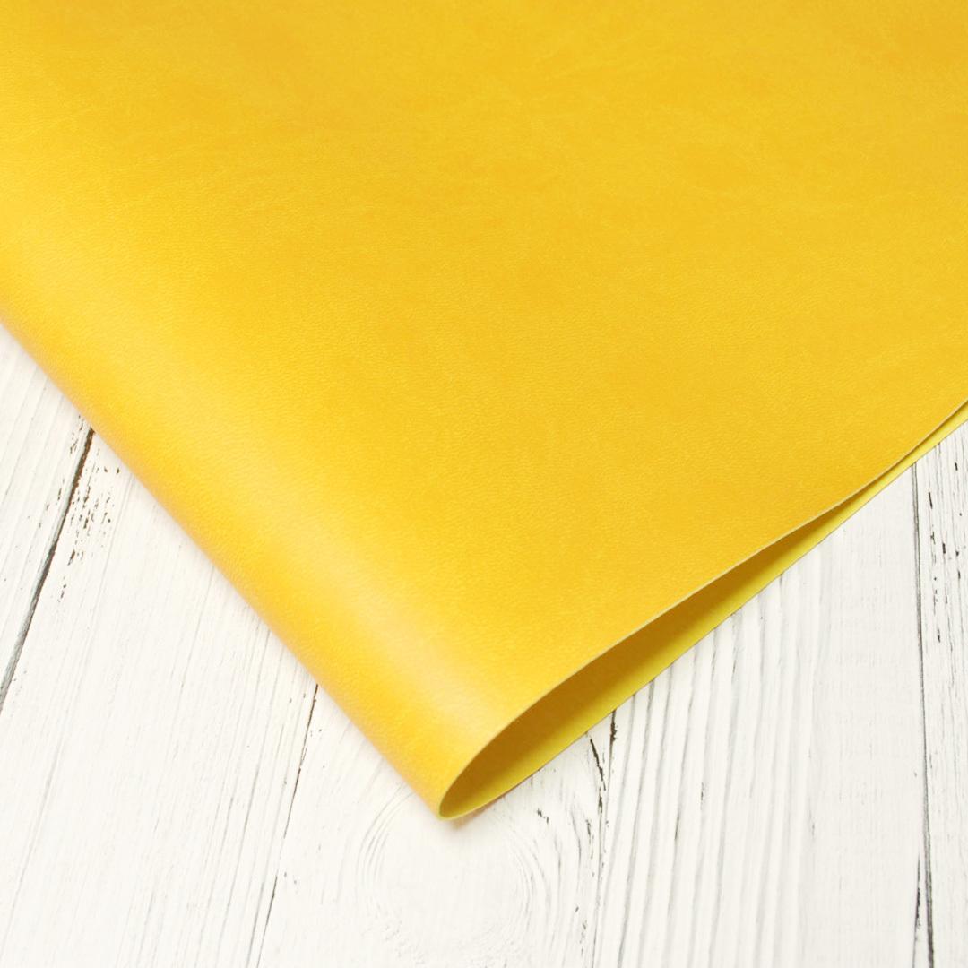 Искусственная кожа SyNT3 VIVELLA ярко-желтый