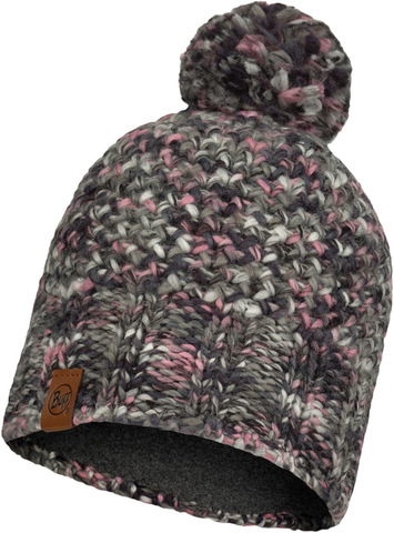 Шапка вязаная с флисом Buff Hat Knitted Polar Margo Castlerock Grey фото 1