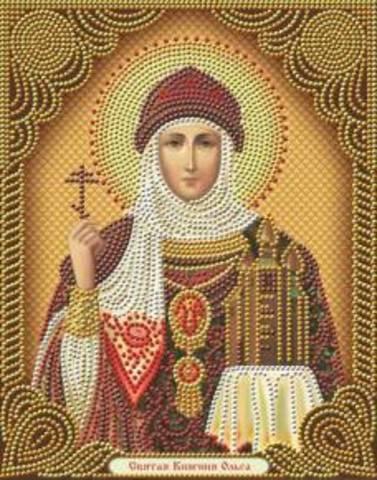 Алмазная Мозаика 27x33 Святая Княгиня Ольга (арт. AS72594)