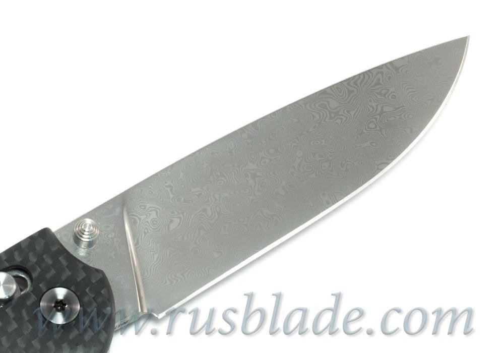 Cheburkov Scout Damascus Folding Knife 2017 - фотография
