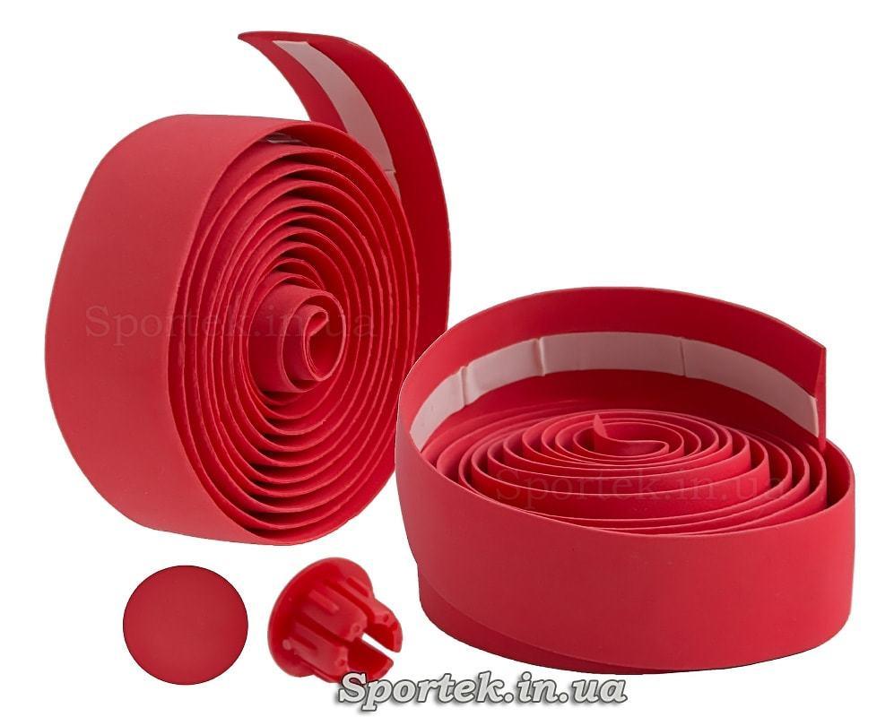 Обмотка на кермо з червоною поліуретанової стрічки