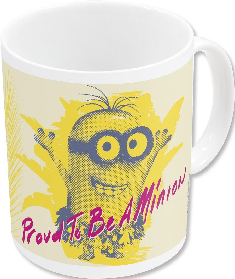 Миньоны Гордится Тем Что Кружка керамическая — Cup Minions
