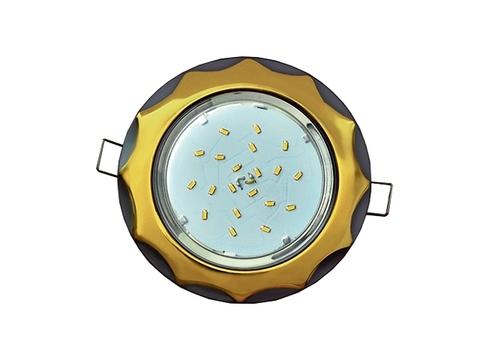 Ecola Светильник GX53 H4 Звезда золото/серебро