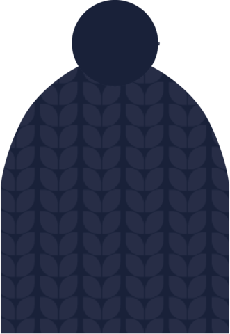 Шапка Nordski Knit Dark blue