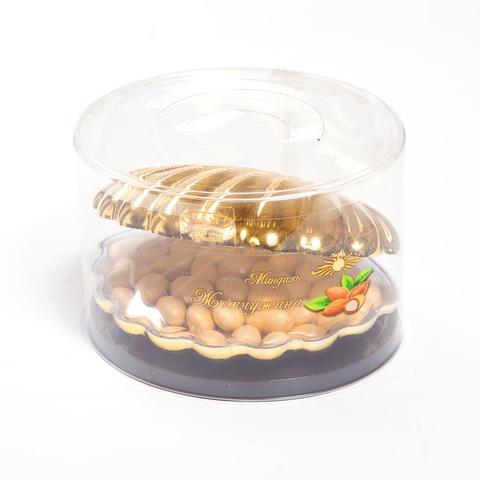 Драже Жемчужина, миндаль с темном шоколаде, 200 гр