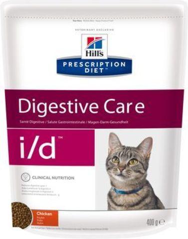 5483 ХИЛЛc ДИЕТА сух.д/кошек I/D лечение заболеваний ЖКТ 400гр*6