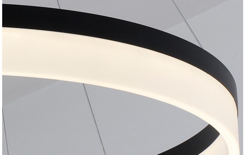 Подвесной Led светильник копия Corona by SONNEMAN D40 (черный)