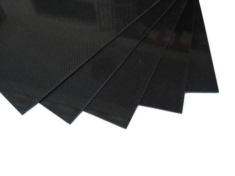 Лист 400х500х1мм из карбона 3К