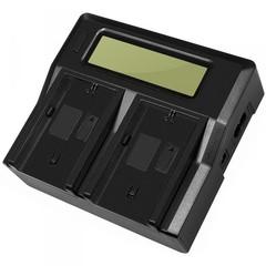 Двойное зарядное LCD устройство Allytec для Sony NP-FW50