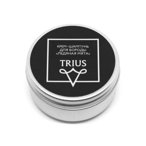 Trius Крем-шампунь для бороды «Ледяная мята» 50ml