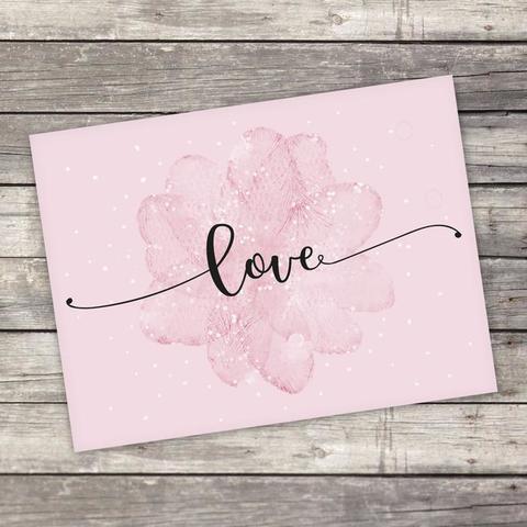 Открытка-комплимент Love, 8 × 6 см