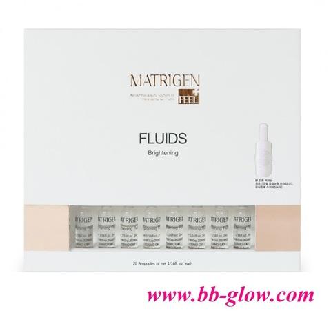 Осветляющий флюид (против пигментации)  Matrigen Brightening Fluids 1 коробка 20 ампул по 2 мл.