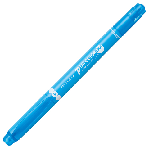 Tombow Twin Tone / Play Color Dot: 14 Sky Blue (голубой)
