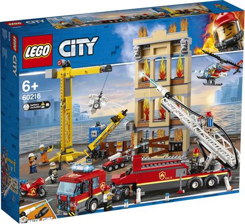 Konstruktor LEGO City Центральная пожарная станция Конструктор