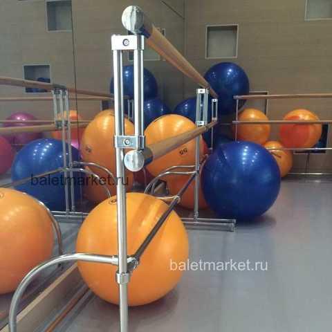 Мобильный балетный станок М2-2 двухрядный