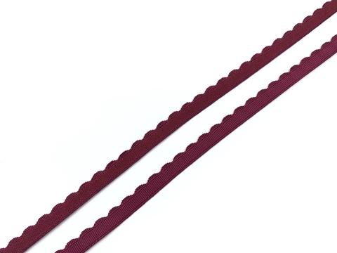 Резинка отделочная бордо 8 мм