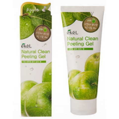 Пилинг скатка с экстрактом яблока Ekel Apple Natural Clean Peeling Gel 180ml.