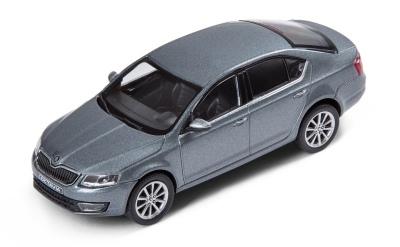 Коллекционная модель Skoda Octavia A7 Platin Grey