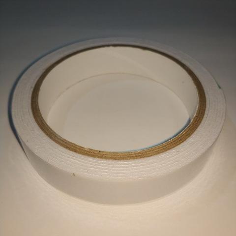 Скотч двухсторонний на полипропилене 19мм*2м. (1/15/135)