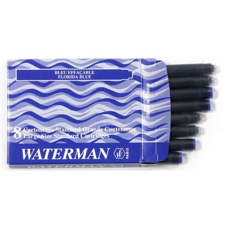 Чернила в картридже Waterman Standard Blue (S0110860)