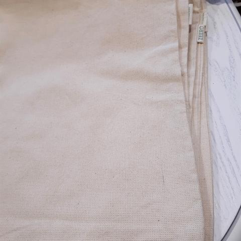 Экосумка без рисунка плотная, 34х39 см (уценка 20%)