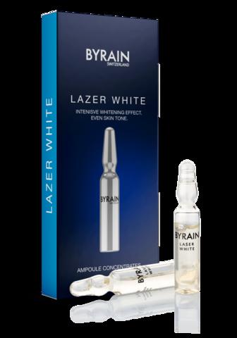 Концентрат ампульный BYRAIN Лазерное отбеливание LASER WHITE 7х2 мл