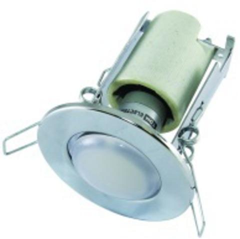 Светильник встраиваемый СВ 01-04 R63 75Вт Е27 хром TDM