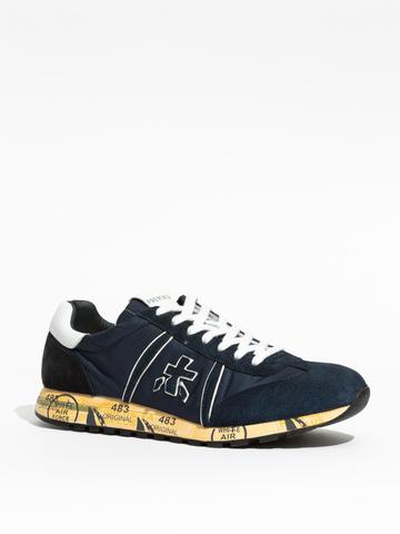Комбинированные кроссовки Premiata Lucy 5151
