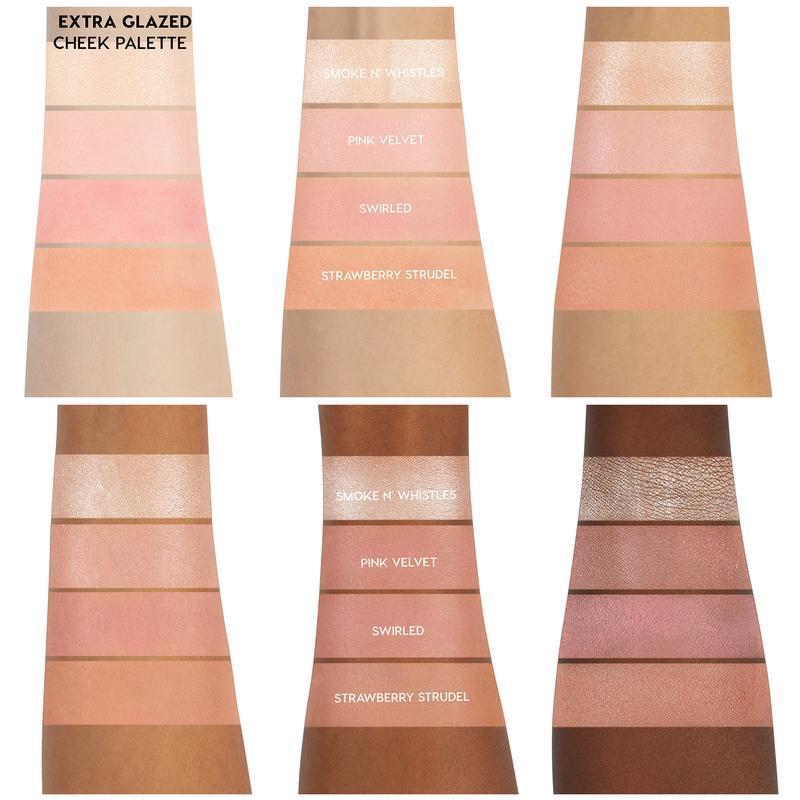 ColourPop Extra Glazed cheek palette