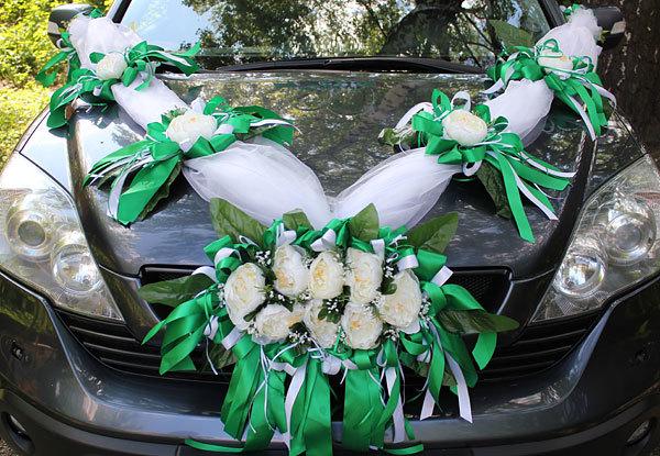 Автомобильная лента на свадьбу