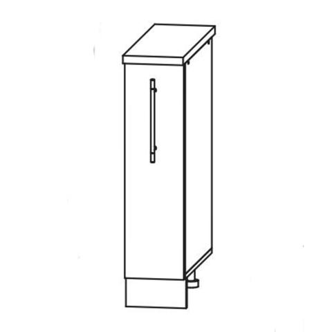 Кухня Вита шкаф нижний бутылочница 850*200