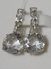 Кольцо с горным хрусталем(кольцо из серебра).