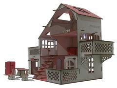 Большой кукольный дом счастливый ребенок