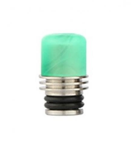 Drip-Tip Acrylic + SS 17.5mm зелёный