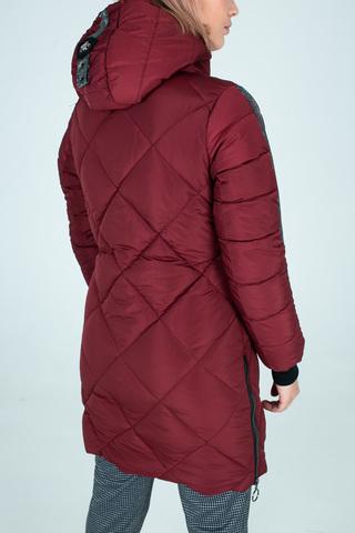 Куртка плащевка на синтепоне удлиненная купить