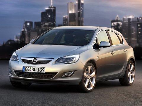 Чехлы на Opel Astra J 2010–2018 г.в.