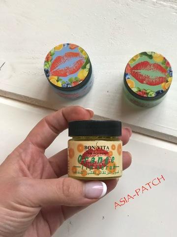 Пилинг-скатка для губ Bonvita Orange Lip Scrub c экстрактом апельсина, 50 мл