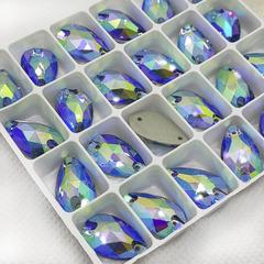 Купите стразы Drope Light Blue AB для художественного купальника недорого