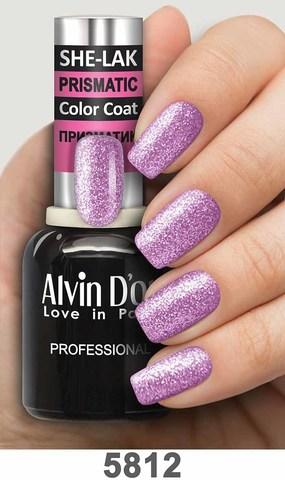 Alvin D`or Лак для ногтей SHE-LAK PRISMATIC  тон 5812 -8мл