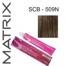 Matrix SOCOLOR.beauty: Extra-Coverage Neutral 509N очень светлый блондин 100% покрытие седины, краска стойкая для волос (перманентная), 90мл