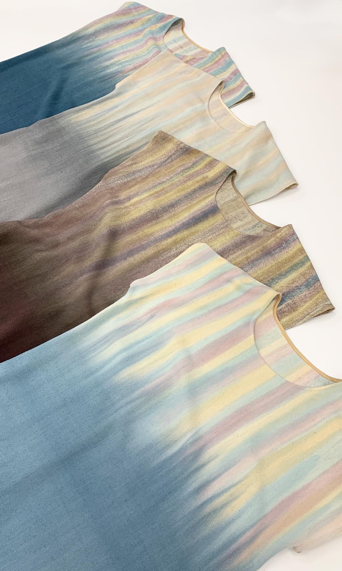 Летние платья из шелка чесуча