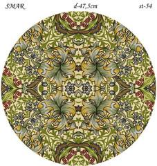 Эскиз для росписи, Круг диаметр-47,5см, SMAR-st-54