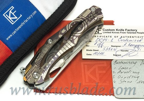 CKF ONE-OFF Decepticon 1 CYBERANIM Custom DCPT-1  (Alexey Konygin, Stasbiker)