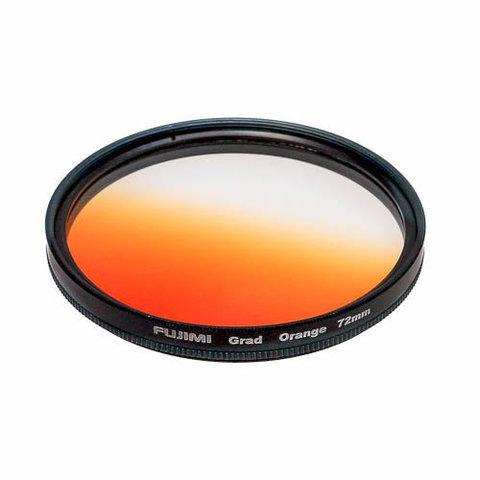 Градиентный фильтр Fujimi GC-ORANGE оранжевый 58 мм