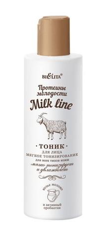 Белита Milk line Протеины молодости Тоник для лица мягкое тонизирование 200мл