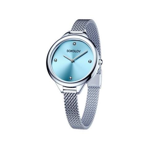 306.71.00.000.02.01.2 - Женские стальные часы от  SOKOLOV